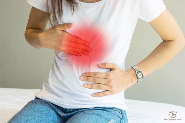 Đau thượng vị là triệu chứng rõ rệt nhất của bệnh